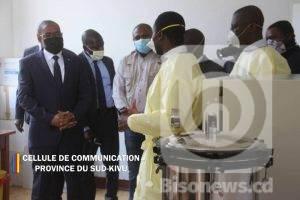 Sud-Kivu : la province bénéficie d'un laboratoire de diagnostic de Covid-19 sous le patronage du gouvernement congolais 2