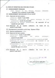 RDC : les élèves auront 30 jours pour terminer l'année scolaire soit du 03 août au 03 septembre (ministre de l'EPST) 3