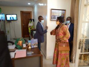 Sud-Kivu : le Vice-gouverneur Marc Malago a reçu le nouveau procureur général près de la cour d'appel du Sud-Kivu 1