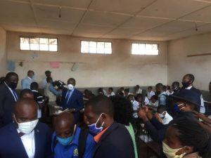 """RDC : Début du TENAFEP, Marc Malago donne le """"go""""des épreuves dans la province du Sud-Kivu 2"""