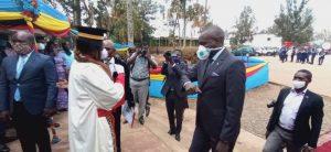 Sud-Kivu : Marc Malago, Vice gouverneur de la province a assisté ce samedi au renouvellement de serment du procureur général près de la cour d'appel et du président de la cour d'appel de Bukavu 1