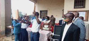 Sud-Kivu : Geneviève Kizumbi, ministre provincial de l'éducation lance les épreuves de hors-session de l'examen d'État édition 2019-2020 1