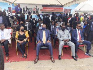 Kinshasa : Gentiny Ngobila met fin aux rumeurs sur une prétendue vente du marché Matadikibala 1