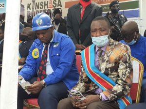 Kinshasa : Gentiny Ngobila met fin aux rumeurs sur une prétendue vente du marché Matadikibala 2