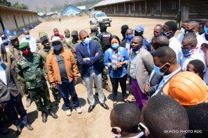 Tueries des élèves à Masisi: le Vice-ministre de l'EPST au chevet des familles éplorées ! 1