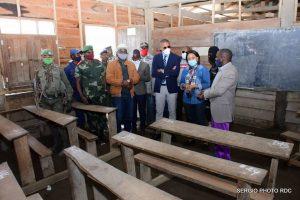 Tueries des élèves à Masisi: le Vice-ministre de l'EPST au chevet des familles éplorées ! 2