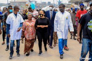 Kinshasa : Liza Nembalemba satisfaite de l'évolution et la qualité des travaux de réhabilitation de l'avenue de la libération (ex 24 novembre) 4