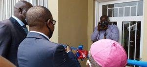 Sud-Kivu : Théo Kasi Ngwabidje inaugure le bâtiment moderne du service de néonatalogie de l'hôpital général de Bukavu 2