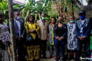 Kinshasa : la députée Liza Nembalemba procéde à l'installation de bureau dans le 18 quartiers de Selembao 3