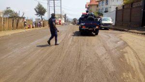 Sud-Kivu : le gouverneur Théo Kasi Ngwabidje inspecte les travaux de réhabilitation de la voirie urbaine de Bukavu 3