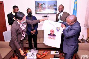 RDC : la situation économique et sociale du personnel de l'UPN, au cœur des échanges entre le vice ministre du budget et une délégation du Club des upeniens 1