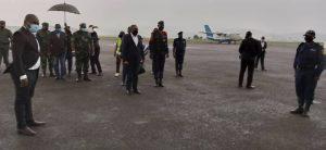Sud-Kivu : le gouverneur Théo Ngwabidje Kasi regagne sa province après une mission de travail de 3 jours à Goma 2
