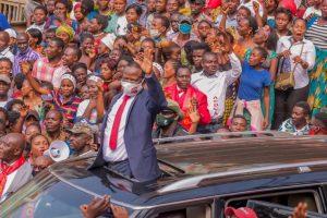 Sud-Kivu : Bukavu réserve un accueil triomphal au sénateur Modeste Bahati Lukwebo 2