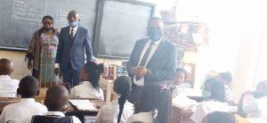 Sud-Kivu/ rentrée scolaire : Théo Ngwabidje Kasi appelle tous les élèves à l'assiduité et au respect des gestes barrières 2