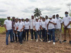 ESSOR ET EXPANSION DES CONGOLAIS, Une association présidée par Papy TAMBA, vient de poser la première pierre pour la construction d'un internat pour les orphelins vivant avec des maladies chroniques 1