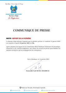 Assemblée nationale: la plénière consacrée au vote du projet de loi autorisant la ratification de l'accord créant la ZLECAF renvoyée à mardi prochain ! 1
