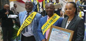 SUD-KIVU : Docteur Martial KANYONYO décoré pour son combat en santé, sciences et recherches scientifiques, à l'occasion de la 5 ème édition patriote en or 2